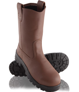 steel blue heeler calf length riggers boot safety guardian. Black Bedroom Furniture Sets. Home Design Ideas