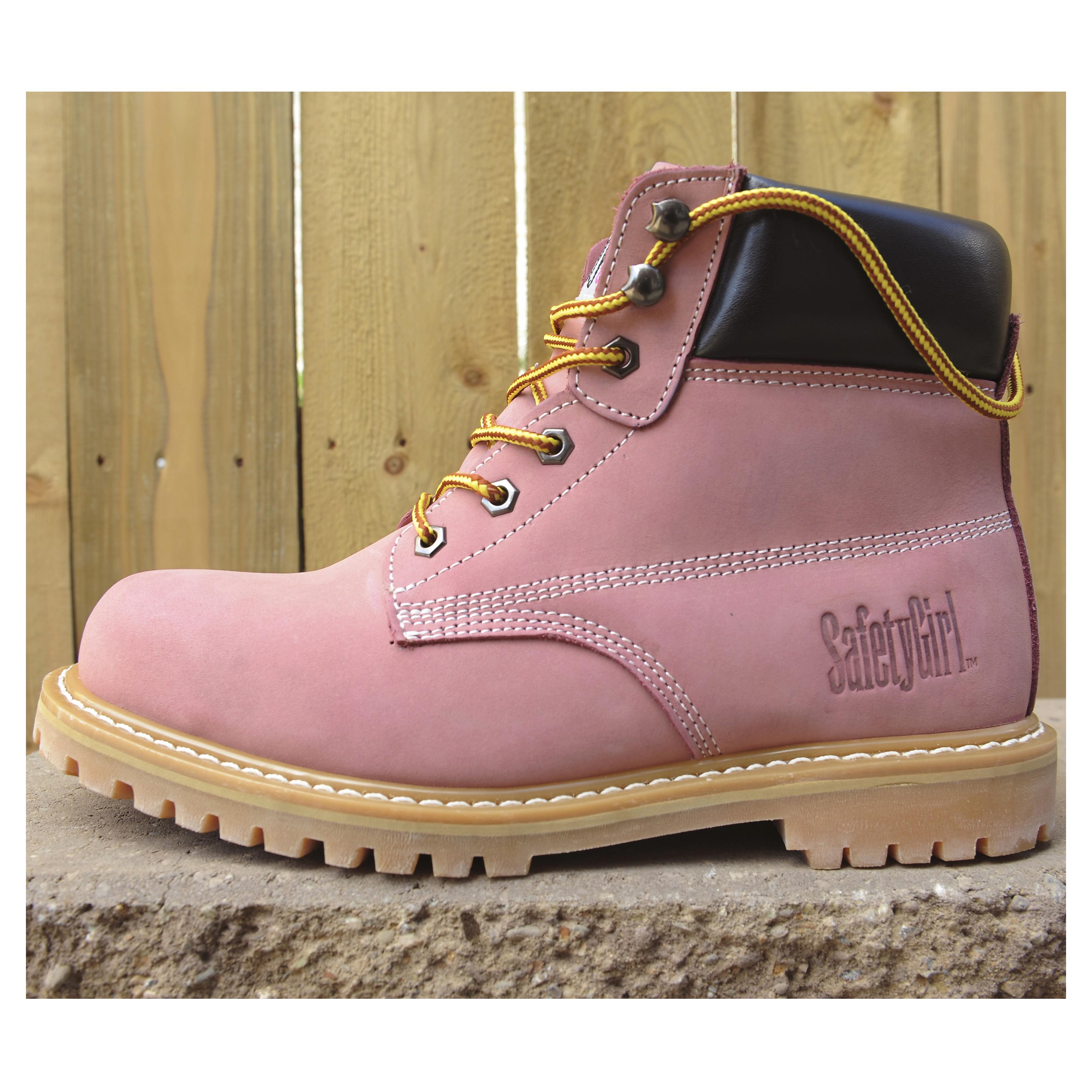 7a6fefa0ebb SafetyGirl Steel Toe Waterproof Womens Work Boots | Safety Guardian