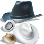 Vulcan Cowboy Hard Hat - Regular Suspension