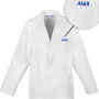 labcoat embroidery