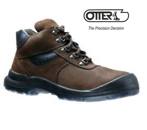Otter Mid-Cut Safety Shoes   Safety
