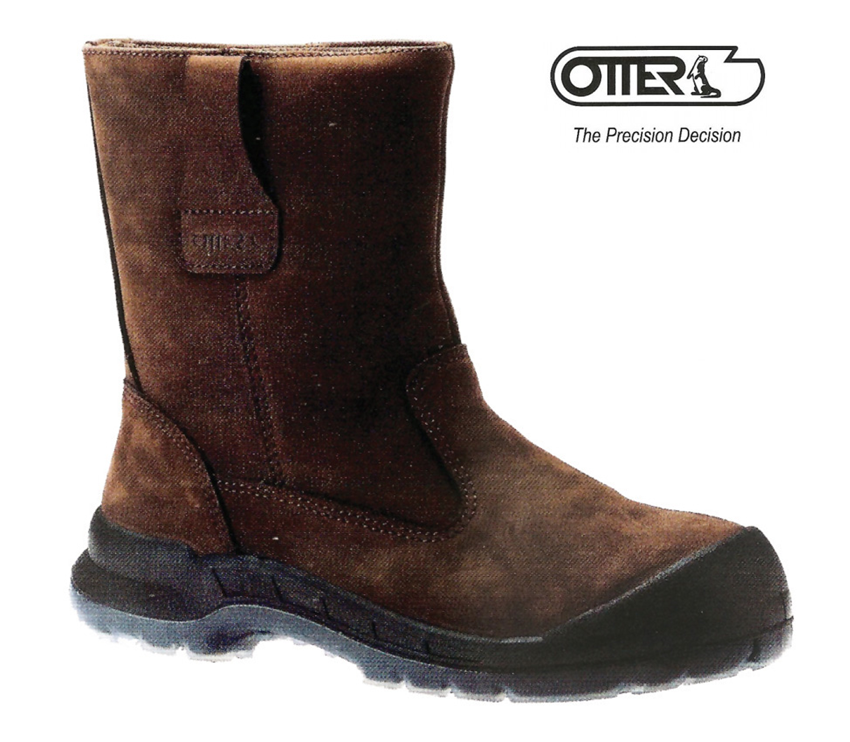 19022ca612da Otter High-Cut Safety Shoes