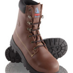 Steel Blue 'Jarrah' - High Leg Lace-Up Safety Boot