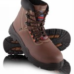 Steel Blue 'Warragul' - Ankle High Lace-Up Safety Boot